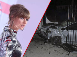 Stolen Nissan Altima Crashed into Popstar Taylor Swift's Rhode Island House