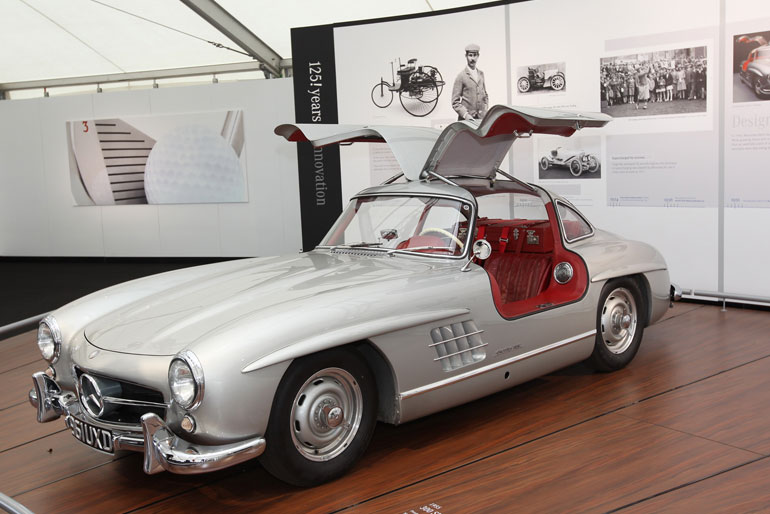 1957 Mercedes 300SL Gullwing