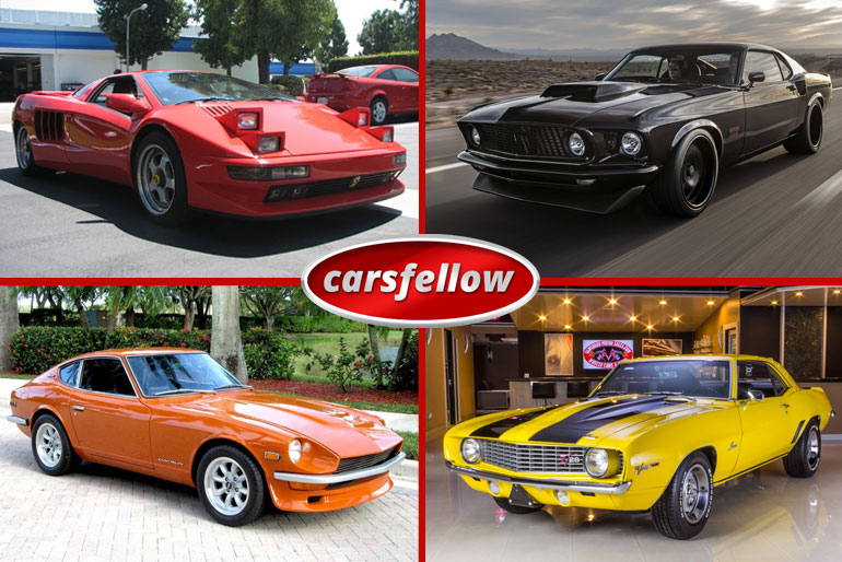 30 Best Classic Cars – Top List of Ever Best Vintage Cars