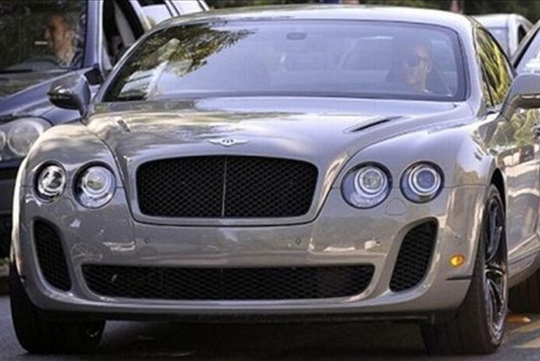 David Beckham Bentley Continental GT Super Sports