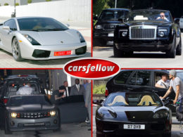 David Beckham Car Collection