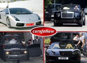 David Beckham Car Collection