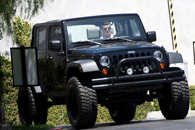 David Beckham Jeep Wrangler Unlimited
