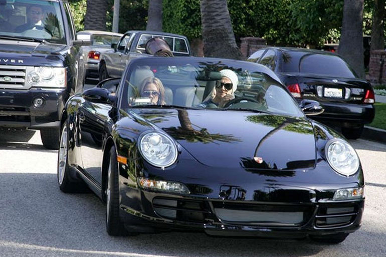 David Beckham Porsche 911 Turbo Cabriolet