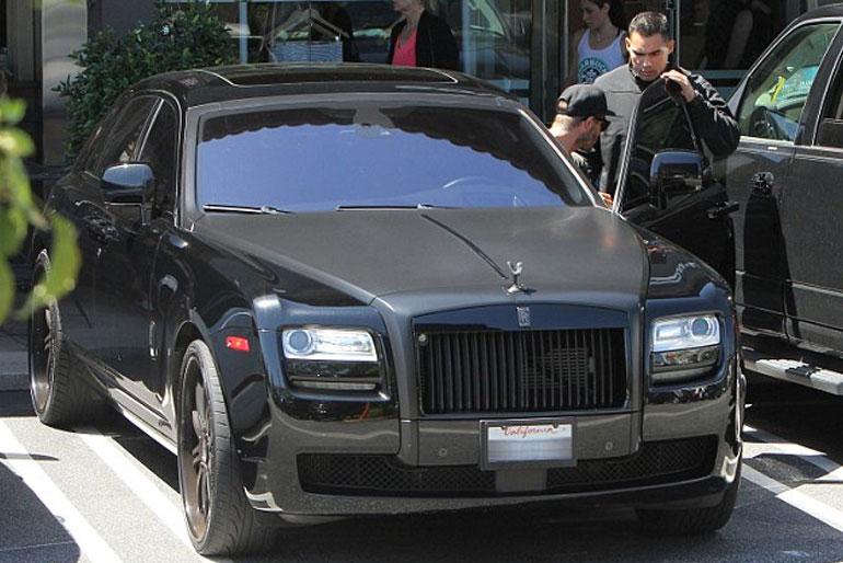 David Beckham Rolls-Royce Ghost