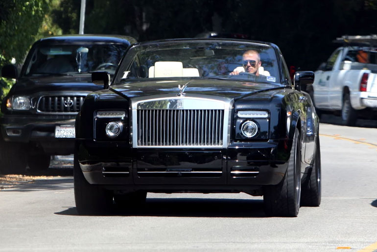 David Beckham Rolls-Royce Phantom Drop Head Coupe