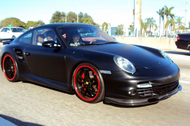 Justin Bieber Porsche 997 Turbo