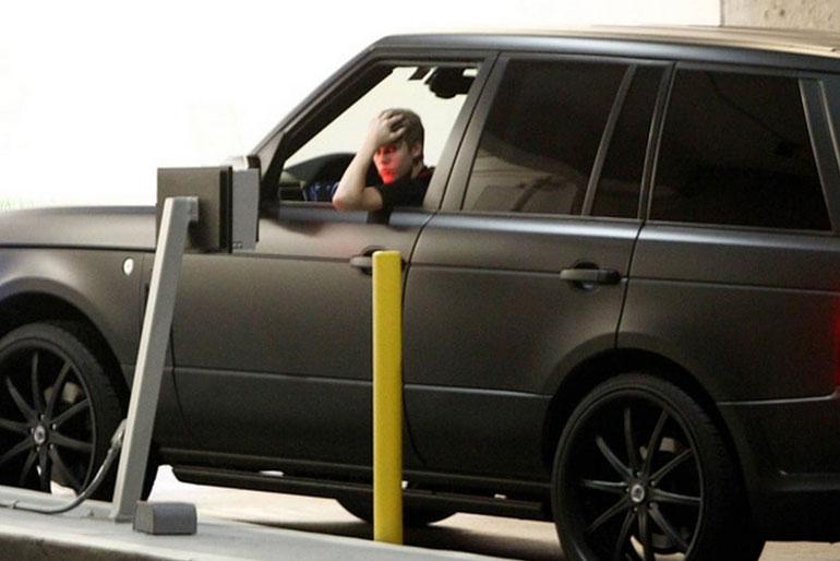 Justin Bieber Project Kahn Range Rover Evoque
