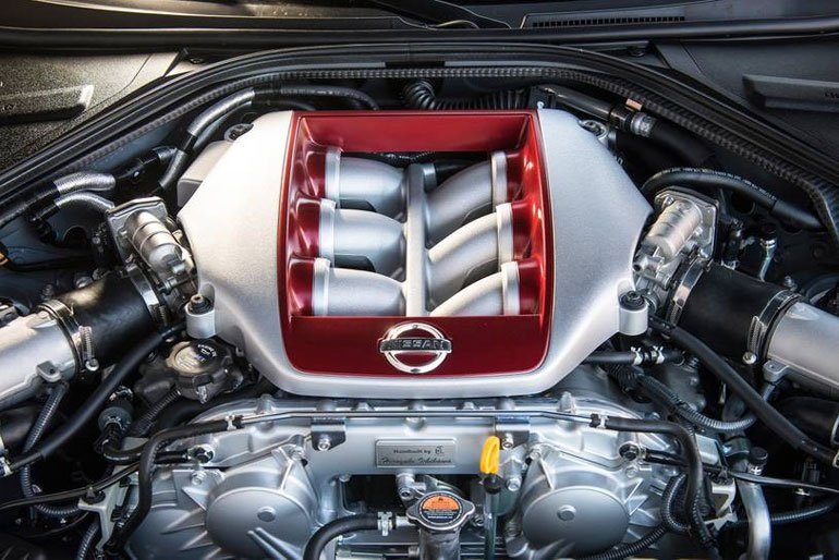 2019 Nissan GT-R Engine
