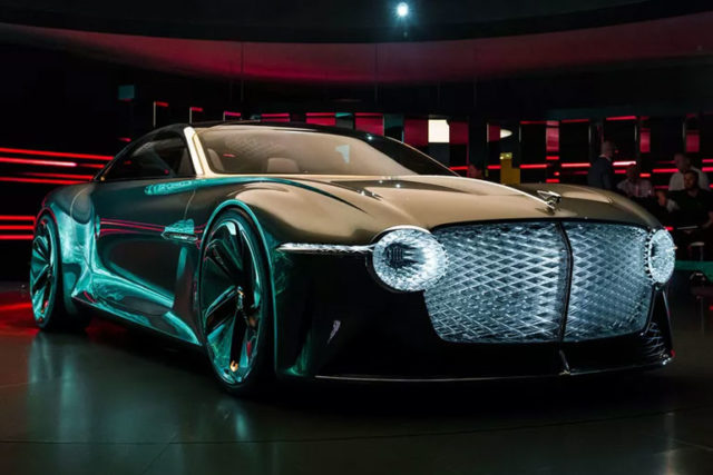 2019 Bentley EXP 100 GT Concept