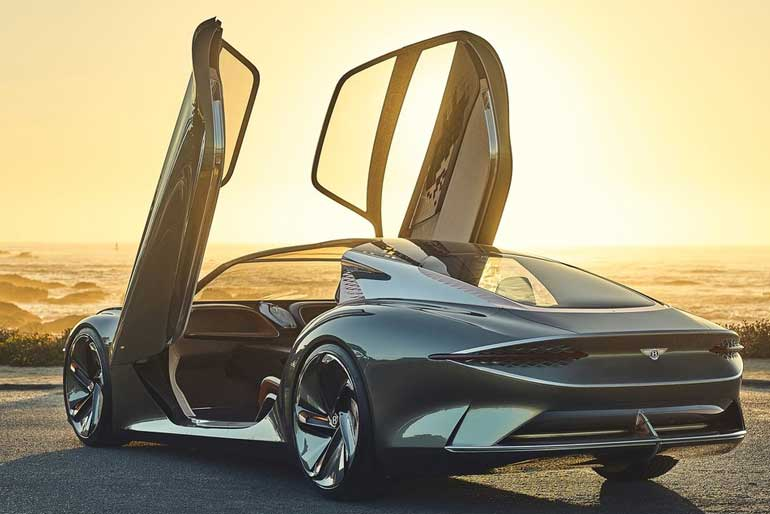 2019 Bentley EXP 100 GT Concept Back Side
