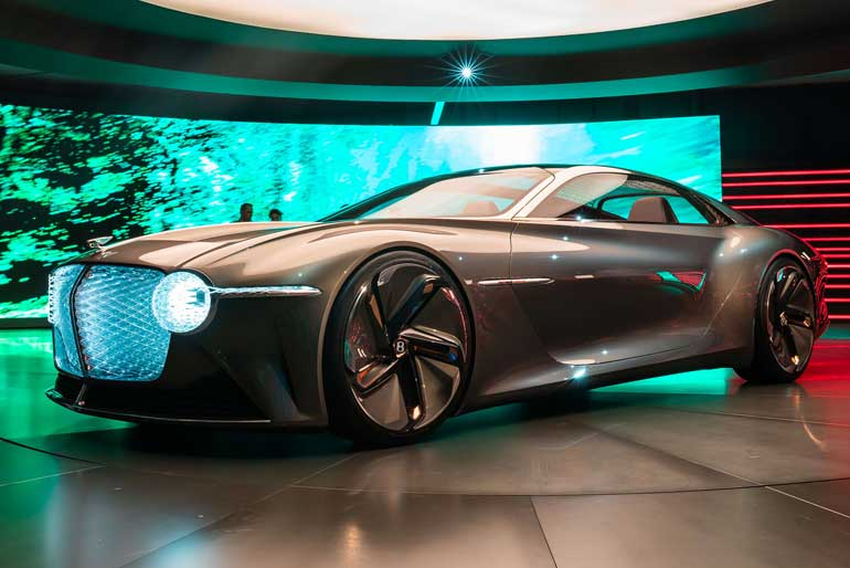 2019 Bentley EXP 100 GT Concept Design