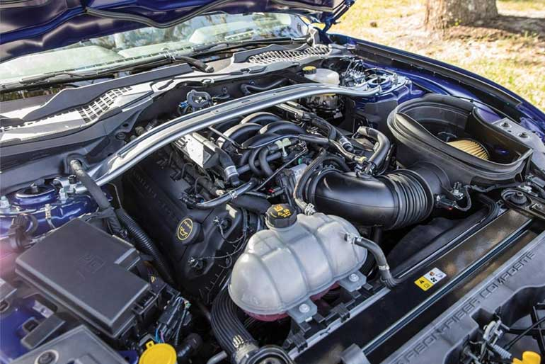 2019 Ford Shelby GT350R Engine