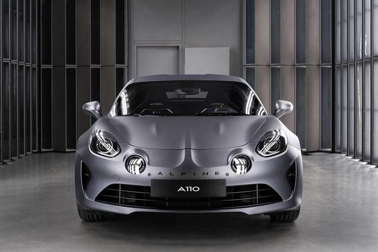 2020 Alpine A110S Front Look
