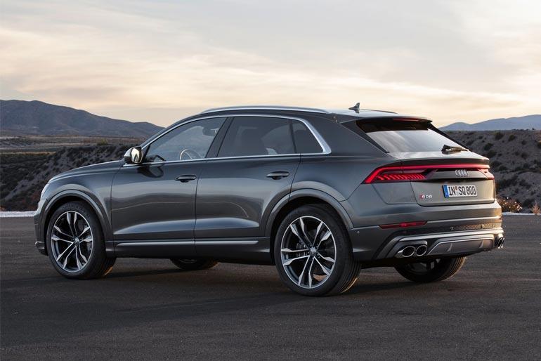 2020 Audi SQ8 TDI Design