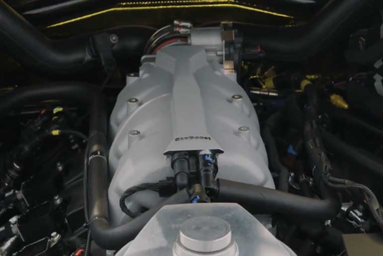 2020 Ford GT Mk II Engine