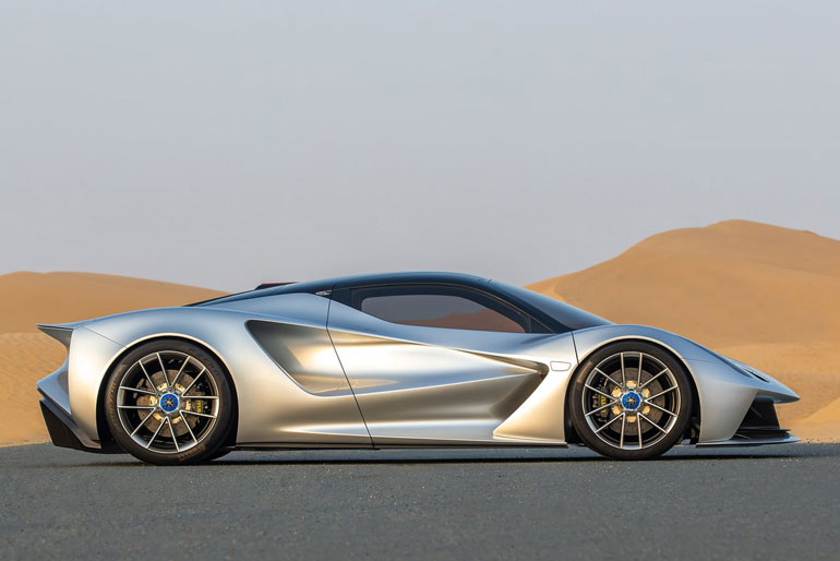 World's First Electric Hypercar