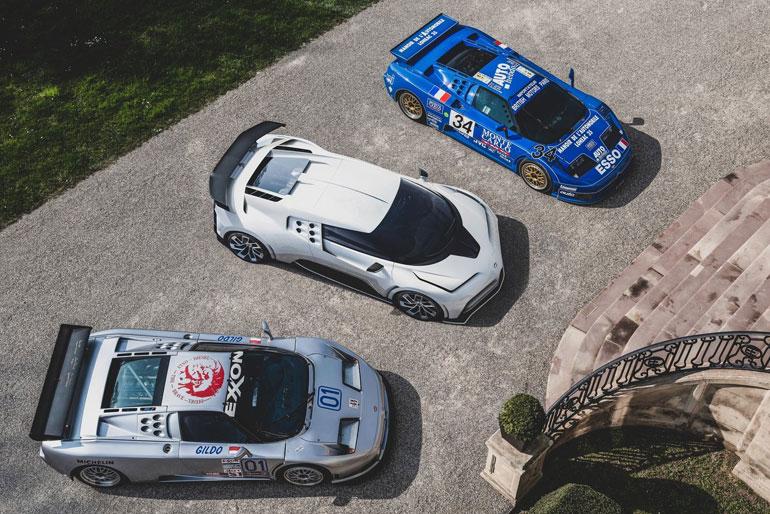2020 Bugatti Centodieci Design