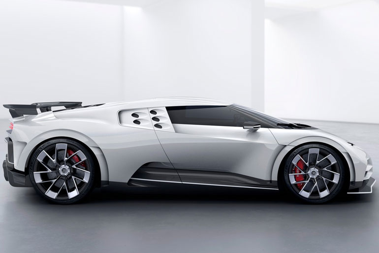 2020 Bugatti Centodieci Three Dimensional Design