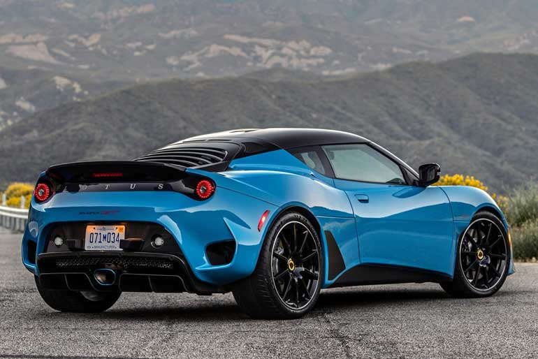 2020 Lotus Evora GT Design
