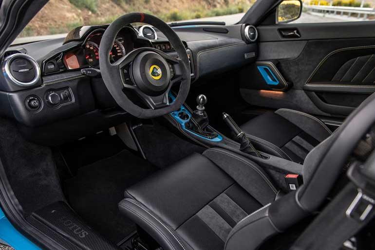 2020 Lotus Evora GT Technology