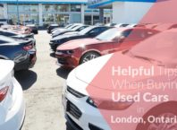 Helpful Tips When Buying Used Cars in London, Ontario