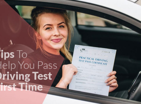 10 Tips To Help You Pass Driving Test First Time