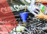 Mobil Power Increase for the Engine