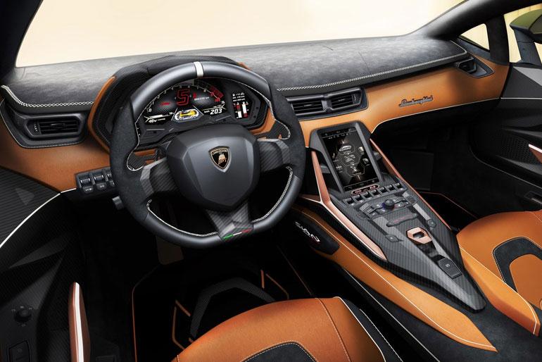 Lamborghini Sian Interior