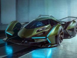 2019 Lamborghini Lambo V12 Vision Gran Turismo Concept