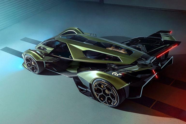 2019 Lamborghini Lambo V12 Vision Gran Turismo Concept Design