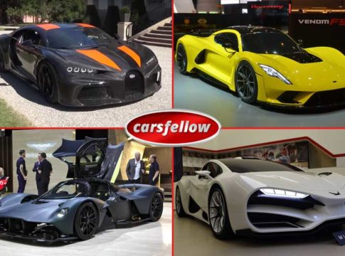 Top 16 Fastest Cars In The World 2020 (Top Speed) According to MPH