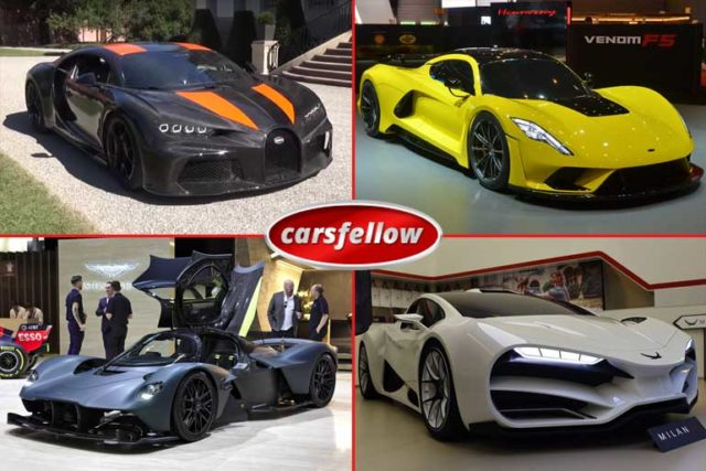 Top 16 Fastest Cars In The World 2021 (Top Speed) According to MPH