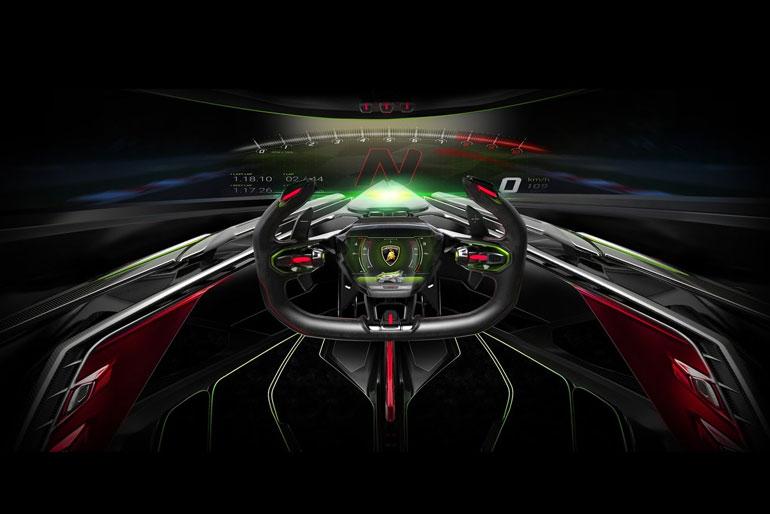 Lamborghini Lambo V12 Interior