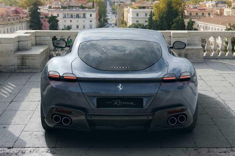 2020 Ferrari Roma Exhaust