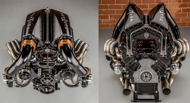 2020 SSC Tuatara Engine