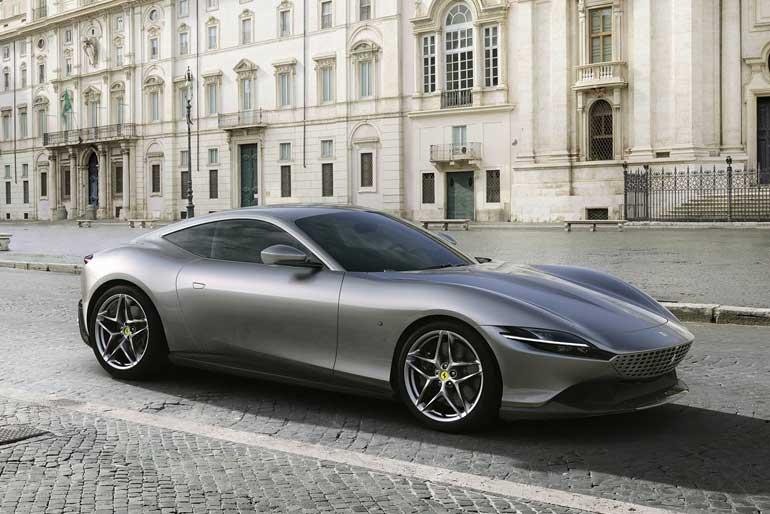 2020 Ferrari Roma Exterior