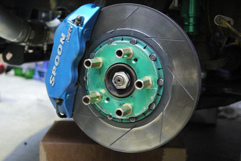 Modification For Brake Fade