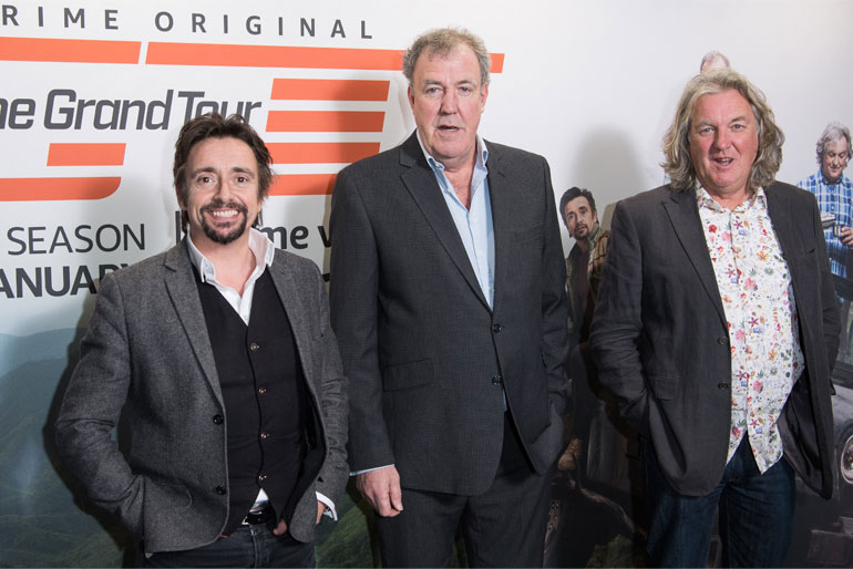 Jeremy Clarkson Top Gear partner Richard Hammond and James May