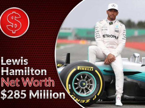 Lewis Hamilton Net Worth – $285 Million