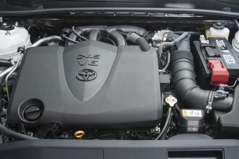 2020 Toyota Camry TRD Engine
