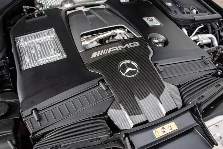 2020 Mercedes-AMG GT 63 S 4-Door Coupe engine