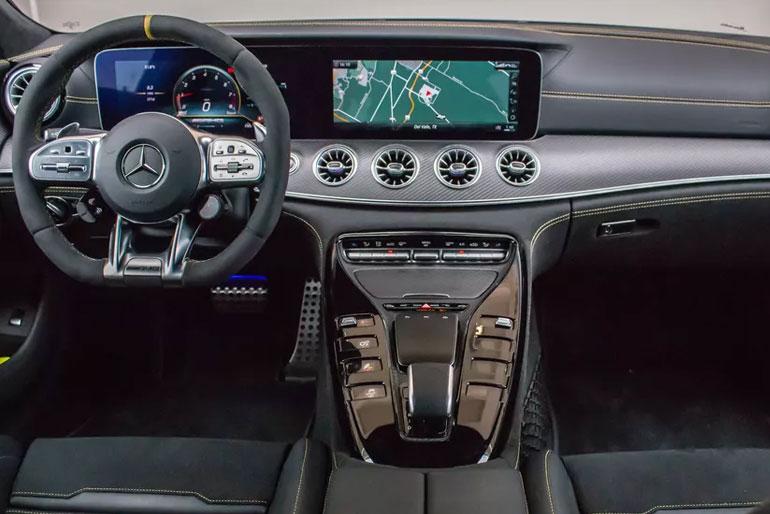 2020 Mercedes-AMG GT 63 S 4-Door Coupe Interior