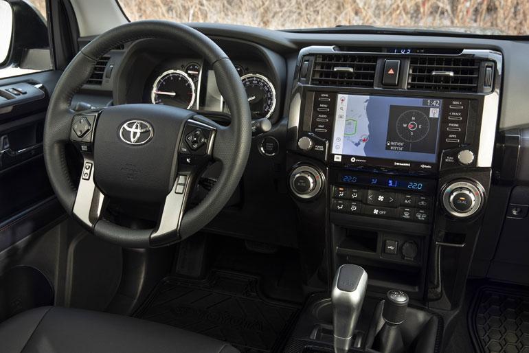 2020 Toyota 4Runner TRD Pro Interior