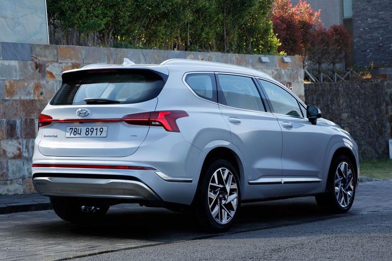 2021 Hyundai Santa Fe Exterior Redesign