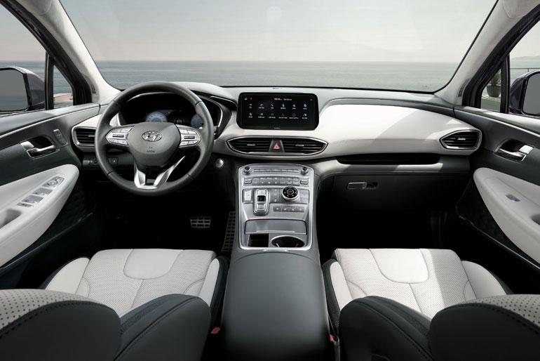 2021 Hyundai Santa Fe Interior Redesign