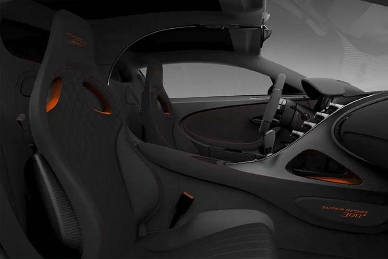 Bugatti Chiron Super Sport 300+ interior
