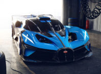 The Bugatti Bolide Is A 1,825HP With A 311+MPH Top Speed