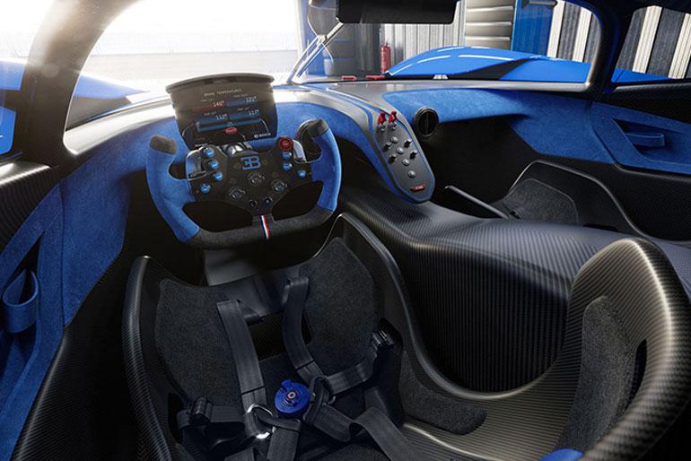 2021 Bugatti Bolide Interior