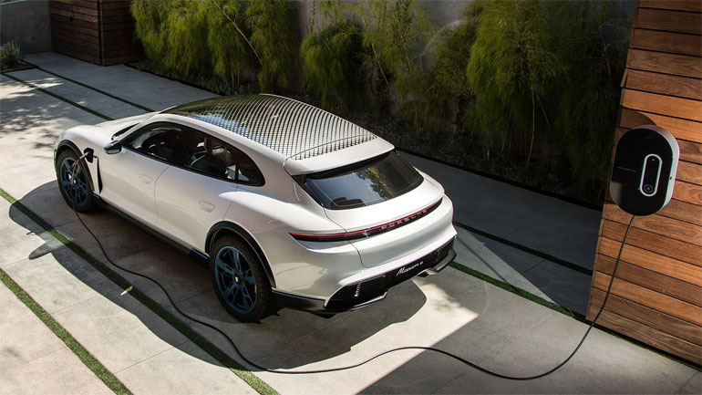 2021 Porsche Taycan Cross Turismo Battery and Range